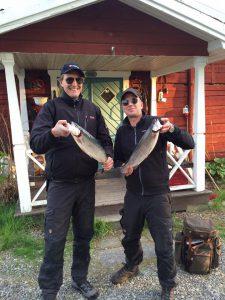 Timmerstugan, Lövnäs, Nöjda fiskare